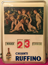 Chianti Ruffino (Tin Sign/ Calendar)