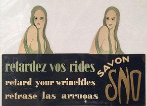 Savon Sno (Wrinkle Cream Carton)