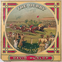 The Derby David Dunlop Cigar Label