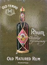 Old Tempo Rum (Rhum des Antilles Francaises)
