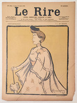 Le Rire Juillet 1898 Mme. Réjane