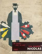 Magazine Ad- Nicolas Green Nectar