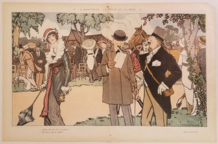 Le Rire - A Deauville: La Belle Et La Bete