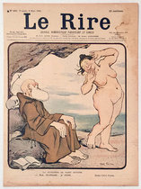 Le Rire (Monk and Nude, Mars 1901)