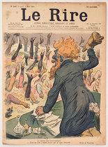 Le Rire (La Greve Des Couturieres, Mars 1901)