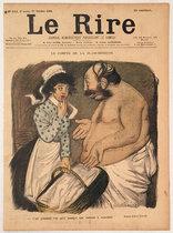 Le Rire (Le Compte de La Blanchisseuse, Octobre 1900)