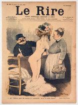Le Rire (Madame passe des eponges en contrebande/ Avril 1900)