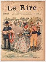 Le Rire (Au Havre, Aout 1895)