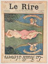 Le Rire (La Feuille a lenvers, Avril 1901)