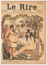 Le Rire (Adam & Eve, Julliet 1899)