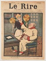 Le Rire (Laquelle dois-je mettre dans le lit de monsieur/ Mai 1901)