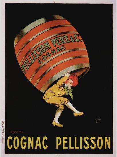 Cognac Pellisson (Large 47 x 63 inches)
