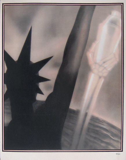 Nicolas - Rose et Noir (Statue of Liberty)