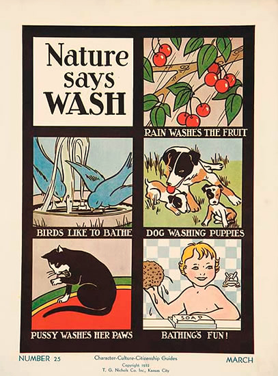 Character Culture Citizenship Nature Says Wash