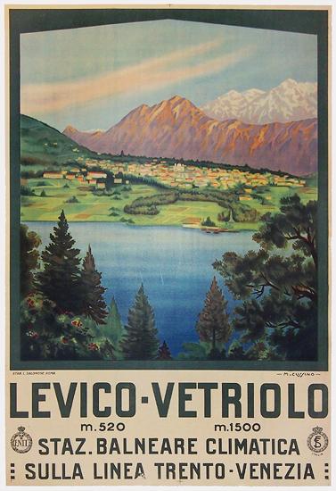 Levico Vetriolo Staz. Balneare Climatica Trento - Venezia