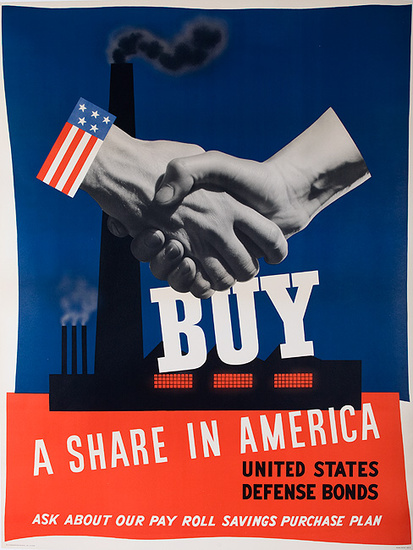 Buy A Share in America US Defense Bonds (Large)