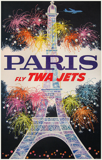 TWA - Paris - Fly TWA Jets
