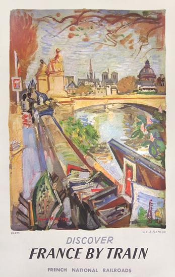 SNCF France by Train (Art Vendor)