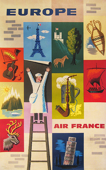 Air France Europe (Posters)