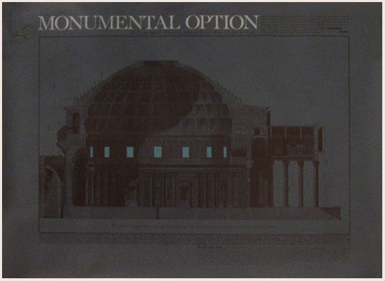 Architectural Rendering - Monumental Option