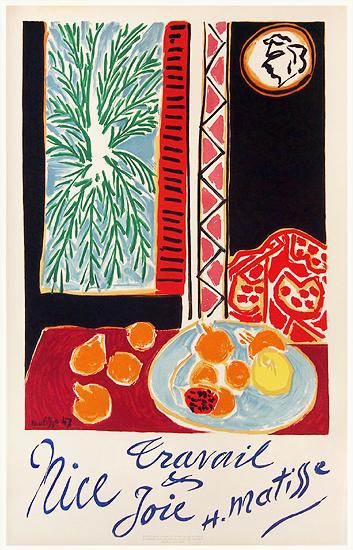 Nice - Travail & Joie Matisse