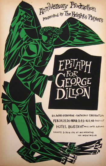 Epitaph for George Dillon  by John Osborne & Anthony Creighton