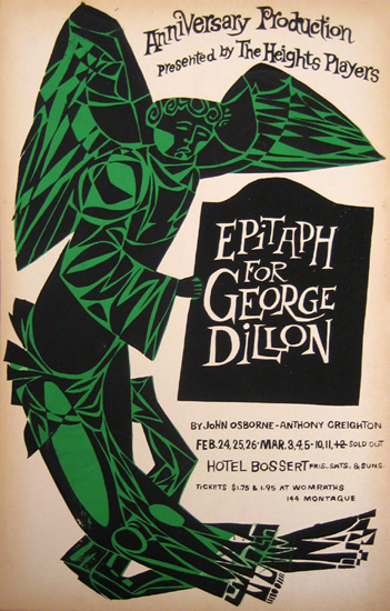 Epitaph for George Dillon  by John Osborne & Anthony Creighton