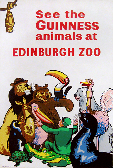 Guinness Animals at Edinburgh Zoo