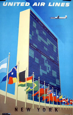 United New York (United Nations Building/ UN Building))