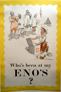 Who's Been at my Enos?