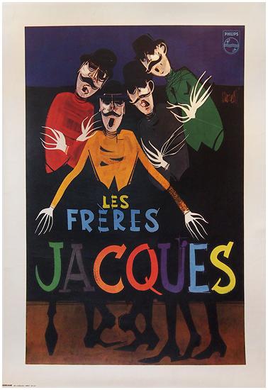 Les Freres Jacques (Blue)