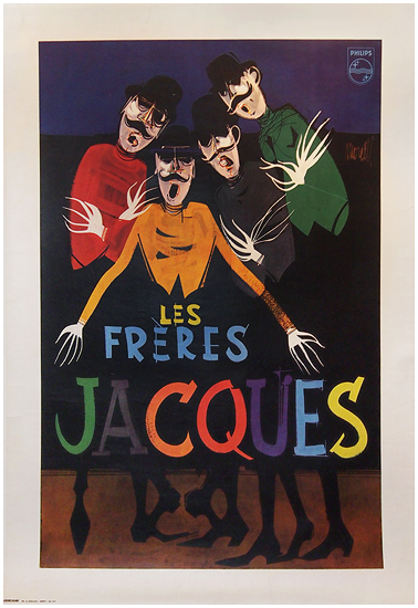 Les Freres Jacques (Blue)