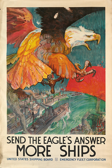 Send the Eagle's Answer More Ships