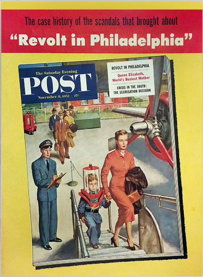 Saturday Evening Post - Revolt in Philadelphia