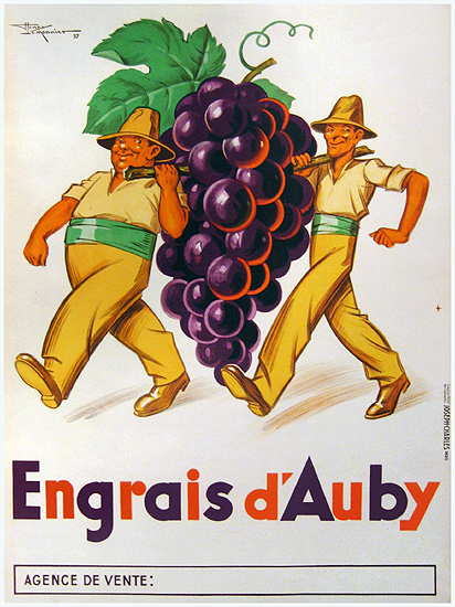 Engrais d'Aubry  (Grapes)