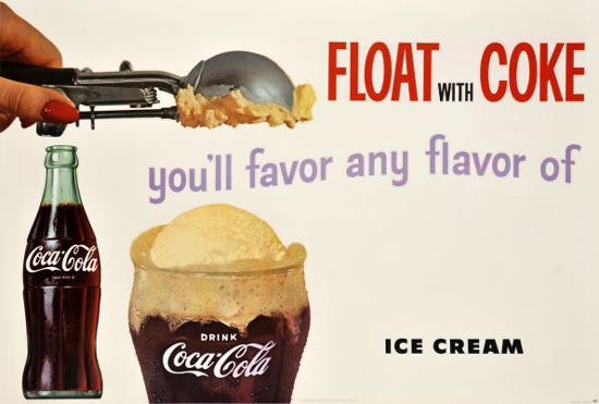 Float with Coke