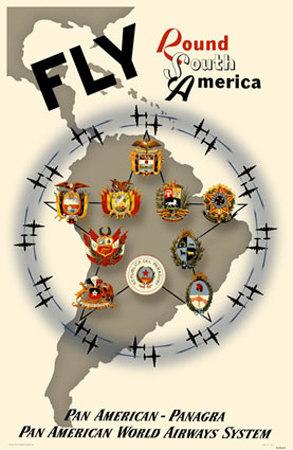Pan Am - Panagra  South America