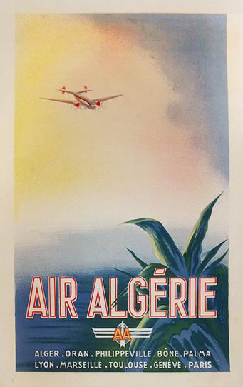 Air Algerie (Quarter Sheet)
