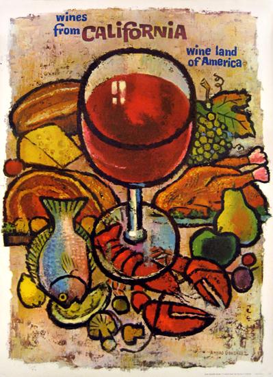 California Wine - Wines from California