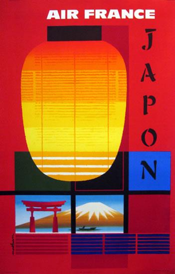 Air France - Japan/ Japon (Lantern)