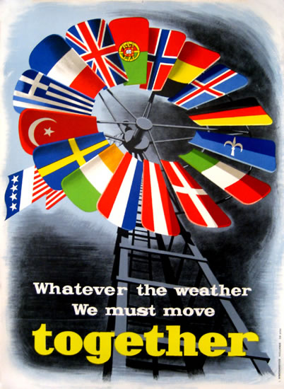 ERP/Marshall Plan - Whatever the Weather We Must Move Together