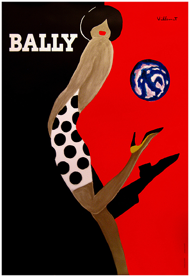 Bally Ball/Kick (47x63)
