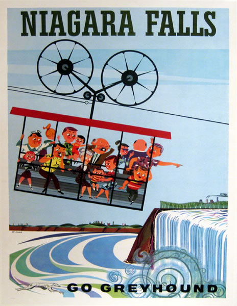 Go Greyhound Niagara Falls (Sky Tram)