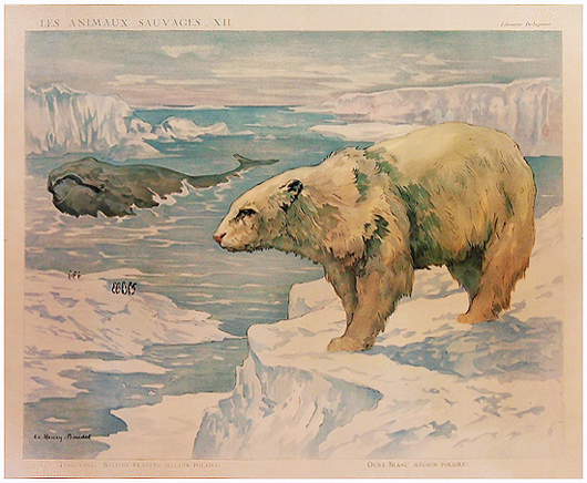 Animal Panel - Polar Bear & Whale
