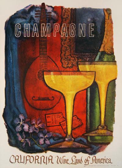 California Wine - Champagne