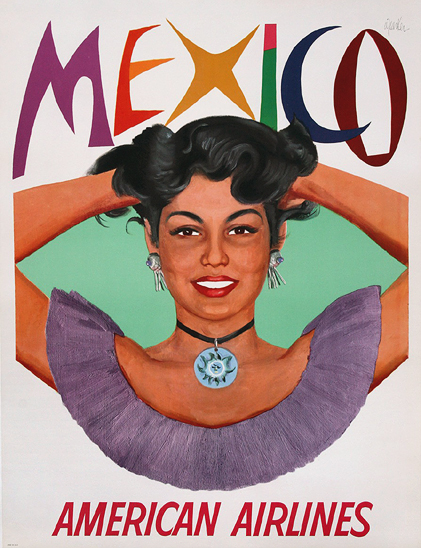 American Airlines - Mexico (Girl)