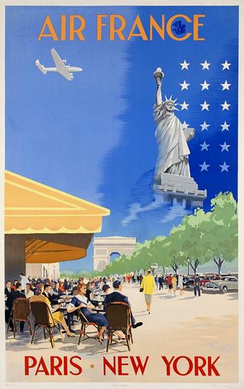 Air France Paris New York (Cafe)