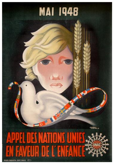 Appel Des Nations Unies en Faveur de l'Enfance (Child & Dove)