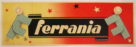 Ferrania (Yellow to Red Panel)
