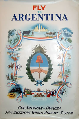Pan Am - Panagra - Argentina